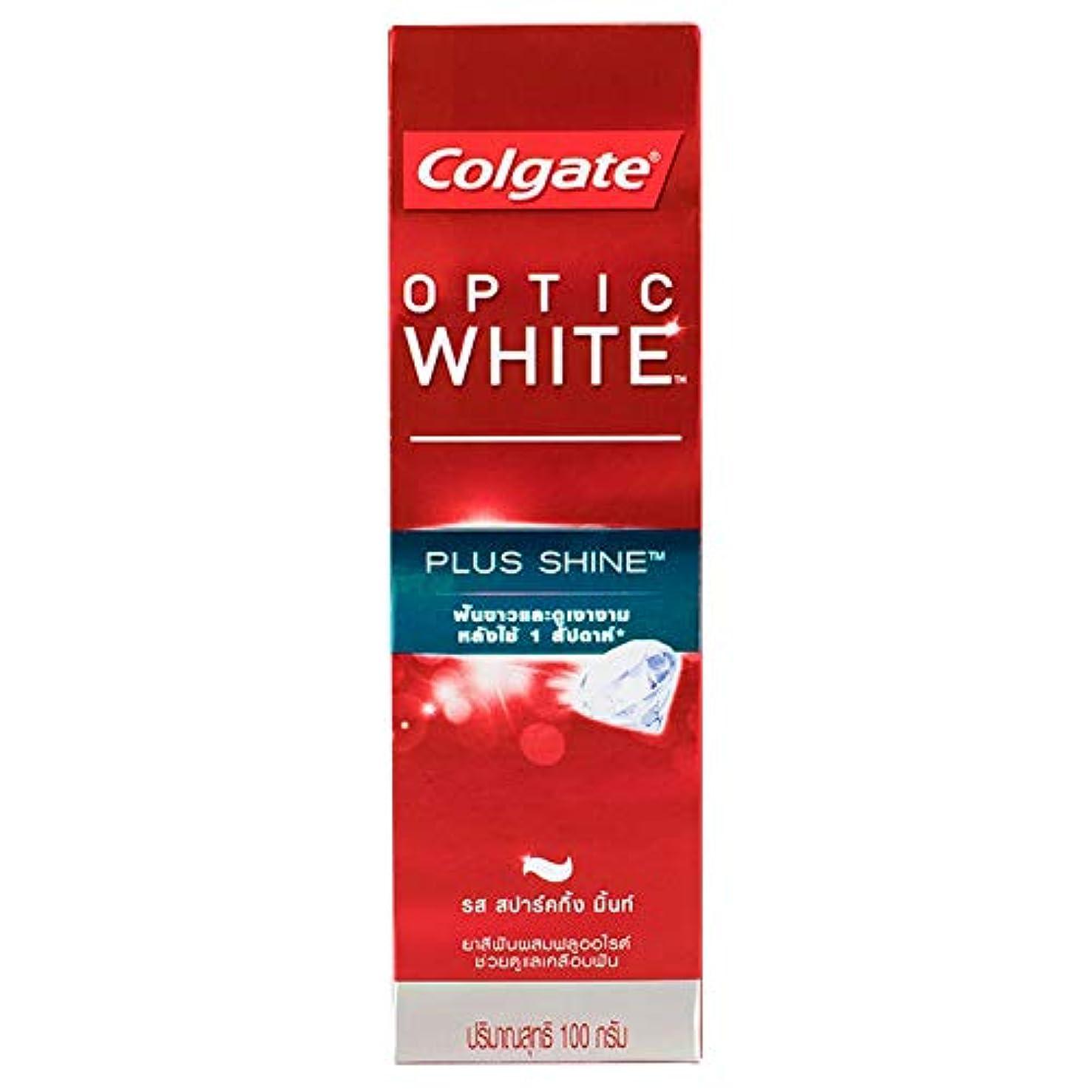 データベースセント物足りない(コルゲート)Colgate 歯磨き粉 「オプティック ホワイト 」 (プラス シャイン)