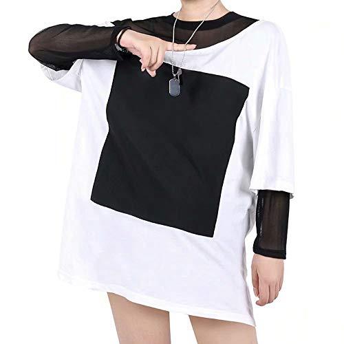 K·D·A Mädchengruppe Akali Cosplay Kostüm 2020 Mesh-Futter Schulterfreies T-Shirt Halskette Outfit LOL Charakter Akali Maskerade Kleid Freizeitkleidung Strassenmode für Geschenk & Party & Fotografie