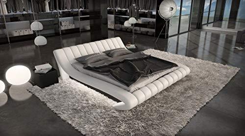 Sofa Dreams Compleet bed Ferrara met matras en lattenbodem 180 x 200 cm - 200 x 200 cm - 200 x 220 cm