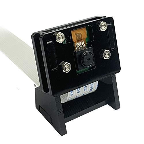 CUQI Module caméra 5MP 1080P pour caméra vidéo Webcam Raspberry Pi 4 / 3B + / Zero W avec étui et câble Flexible