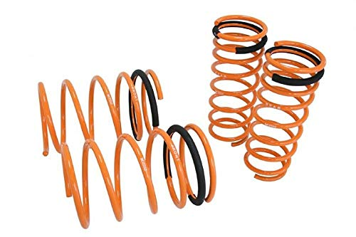 4 Pcs of Megan Racing MR-LS-NS14 Lowering Springs, Compatible with 95-98 Nissan 240SX S14