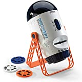 Discovery Kids Planetarium Projector for Children with Rotating Stars Night Sky Mode and Stationary Slides Mode with Planet, Constellation, Solar System, Nebula, Spaceship, and Star Slides