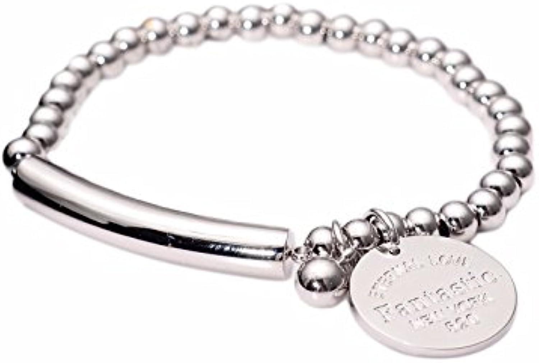 GTVERNH Gift Fashion Temperament Titanium Bracelet Classic Fashion Exquisite Bracelet No Fading.
