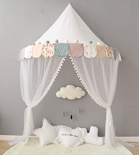 Nordic Ideas Dosel cotbed del niño de la tienda del juego Mosquitera para cuna Nursery accesorios de las decoraciones regalos Nte005 para Unisex-adulto Muchos, E
