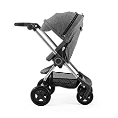 Suitable from newborn and offers several parent and forward facing seating positions Compact, easy to fold and carry Lockable swivel wheels, easy to push