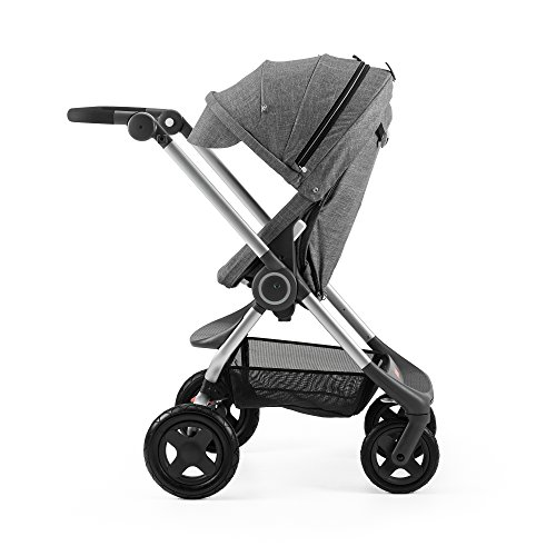 Product Image of the Stokke Scoot Complete Stroller, Black Melange