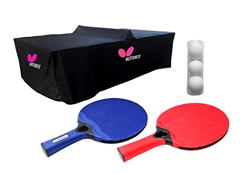 Butterfly Outdoor Playground Table Tennis Accessory Pack