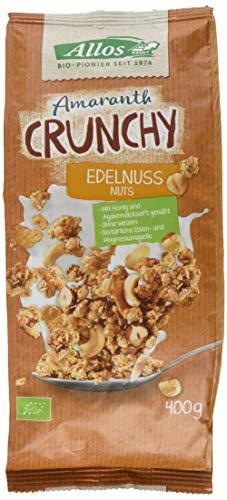 Allos Amaranth Crunchy Edelnuss (1 x 400 g)