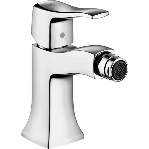 hansgrohe 31275001 Metris C 6-inch Tall 1 Bidet Faucet in Chrome