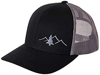 LINDO Trucker Hat - Great Outdoors Collection  Black/Graphite