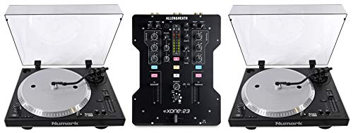 For Sale! (2) Numark NTX1000 Direct Drive Pro DJ Turntables + Allen & Heath XONE:23 Mixer
