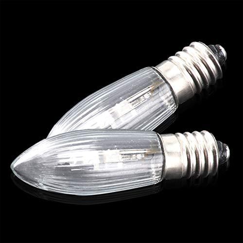 BALLSHOP 10er Set E10 LED Ersatzbirnen Ersatzlampen für Schwibbogen Lichterbogen 10V-55V