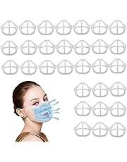 3D Maskerbeugel voor Comfortabele Ademhaling, 30 STKS Cool Siliconen Wasbaar Herbruikbare Lippenstift Bescherming Interne Ondersteuning Frame Houd Stof Uit Mond om Meer Ademhalingsruimte te creëren