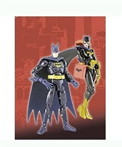Microman Micro Action Series Batman & Batgirl 4 inch Action Figure by Microman