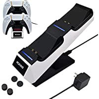NexiGo Charing Station for Playstation 5 DualSense Controller with AC Adapter