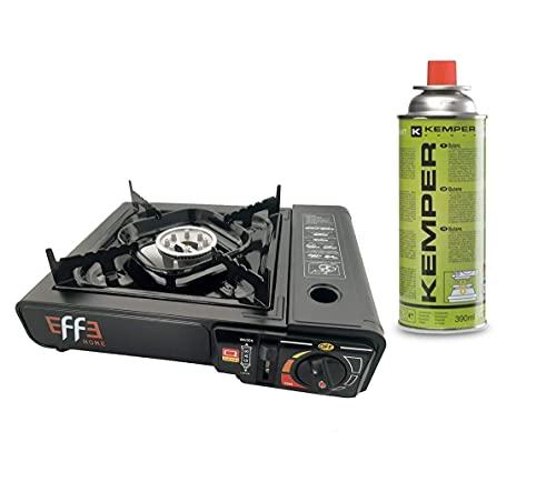 EFFE Kit FORNELLO Campeggio + 4 CARTUCCE -...