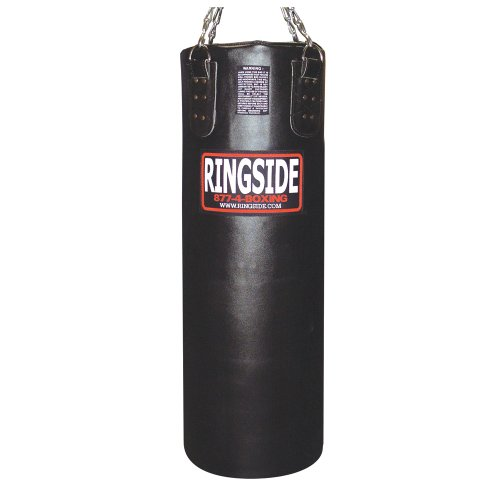 Ringside Leather Heavy Bag - Unfilled (Black)