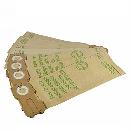 Bolsas para Aspiradora vorwerk folletto 120–122, adaptables de calidad, 8unidades