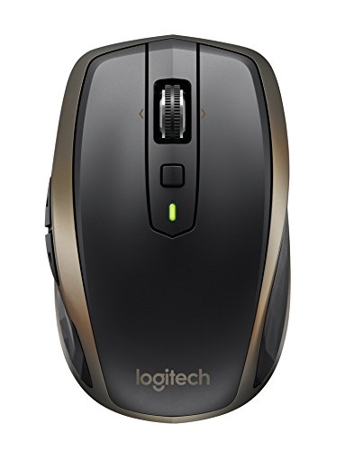 Logitech MX Anywhere 2 Wireless Mouse – Use On Any Surface, Hyper-Fast...