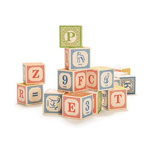 Uncle Goose Classic ABC Blocks - Made in...