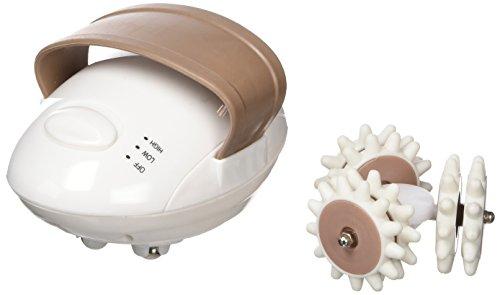 Adore Better Living Cellu Tone - Aparato anticelulitico electrico y masajeador facial y corporal, 9 W, color blanco