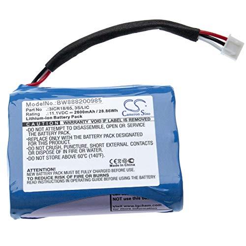 vhbw Akku passend für Bang und Olufsen BeoPlay A3 Lautsprecher Boxen Speaker (2600mAh, 11.1V, Li-Ion)