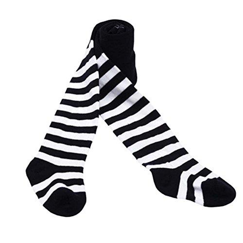 Black Temptation Stilvolle süße farbige Strumpfhosen Mädchen Leggings gemusterte Strumpfhosen Match Kleid/T-Shirt/Röcke, 04