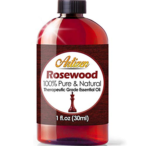 Artizen Rosewood Essential Oil (100% Pure & Natural - UNDILUTED) Therapeutic Grade - Huge 1oz Bottle - Perfect for Aromatherapy, Relaxation, Skin Therapy & More!