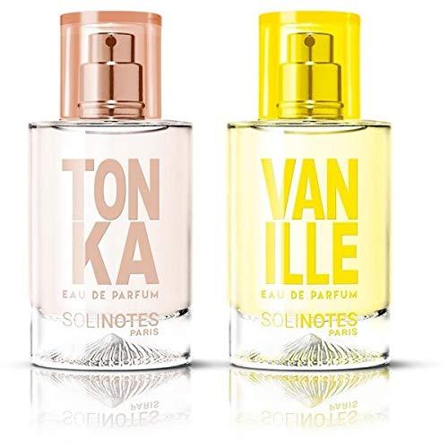 Wunderbare Mischung: Tonka Eau de Parfum 50 ml und Vanille Eau de Parfum 50 ml