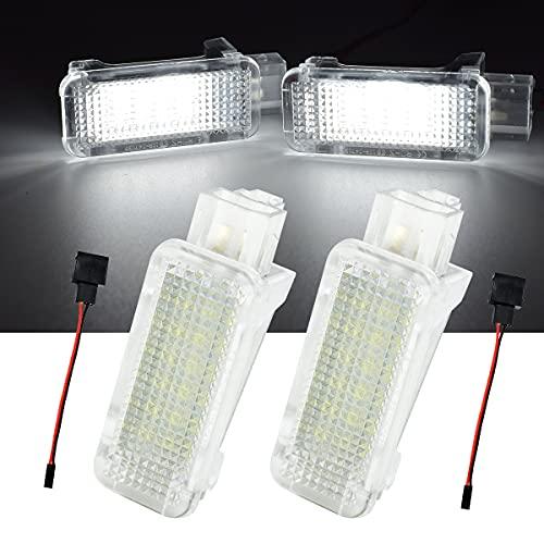 2 pezzi 12 V LED SMD modulo di ricambio per Audi VW PORSCHE Skoda, luce bianca di alta qualità e illuminazione uniforme