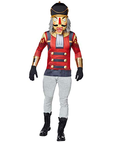 Spirit Halloween Adult Fortnite Crackshot Costume - S