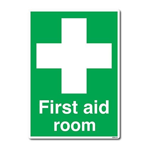 Britischen Standard Erste Hilfe sich, Sicherheit Aufkleber von Lichtschalter CO (210x 297mm, Erste Hilfe Raum)