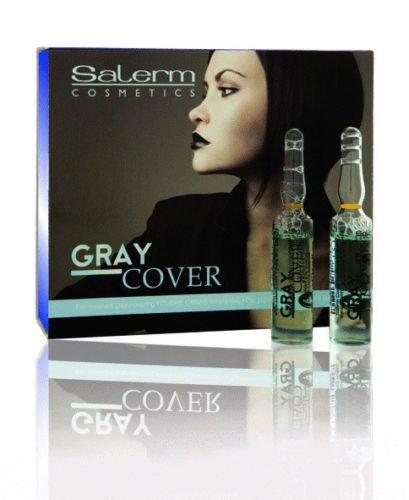 SALERM CUBRE CANAS Gray Cover Ampollas 12 x 5 ml
