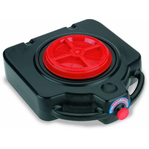 Scepter 06985 Black DP15 Square Drain Pan 20 Quart Capacity