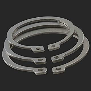 External Retaining Rings Metric Spring Steel Phosphate Coated DIN 471 M52 40 pcs