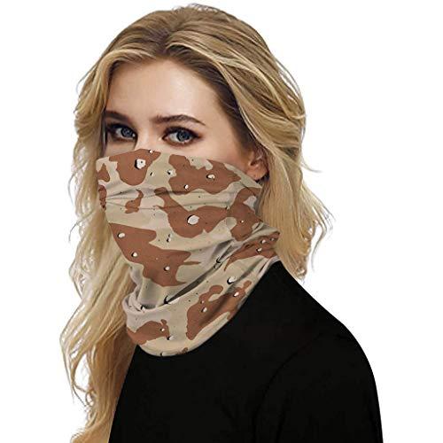 Briskorry Mundschutz Halstuch Face Shield Multifunktionstuch Sommer UV-Schutz Atmungsakt,Outdoor UV Staubschutz Mund-Tuch Motorrad Fahrrad Joggen Schal Face Shield
