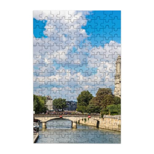 Rtosd Best Jigsaw Puzzle Beautiful Notre Dame De Paris Jigsaw Puzzle Board 150 Pieces Of Adult Children's Puzzle Games Puzzleboss Jigsaw Puzzles Suitable For Family Fun Games