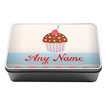 Personalised Cupcake Baking Tin Gift - Open for Christmas