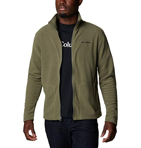 Columbia Herren Fast Trek Light Fleece-Jacke Mit Durchgehendem Reißverschluss, Stone Green, XL