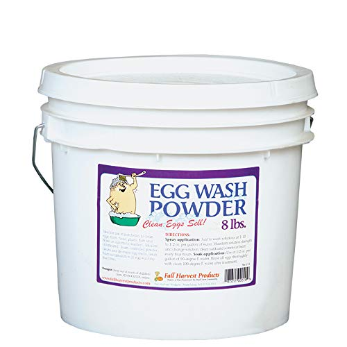 Incredible Egg Wash Powder - 8 LB Bucket - The Original!