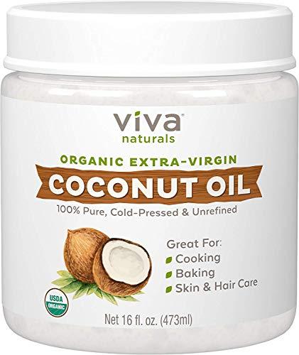 Organic Extra Virgin Coconut Oil, 1…