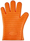 BRIDAY 2020 Silicone Kitchen Grilling Gloves Oven Mitts Heat Barbecue Potholder Non-slip Cooking BBQ Grill Glove Baking Glove-2