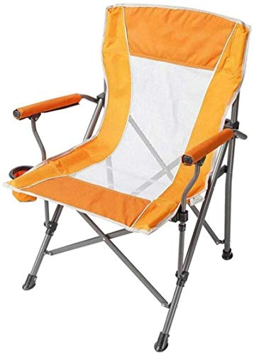 HZWLF Camping Chair,Outdoor Folding Chair,Camping Bench With Backrest Armrests Multifunctional Casual Picnic Travel Fishing