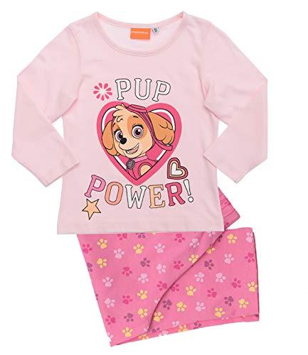 La Pat' Patrouille Pyjama Long Enfant Fille (Paw Patrol) Stella Rose de 2 à 6ans (4 Ans)