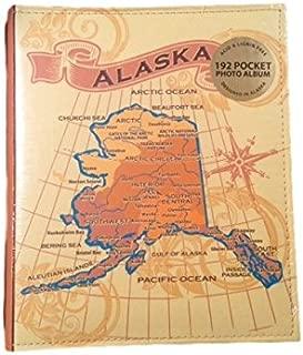 Embossed Alaska Photo Album Holds 192 4x6