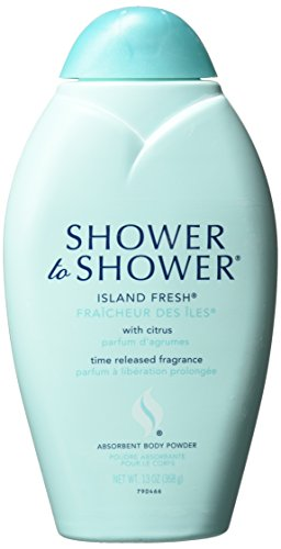 SHOWER TO SHOWER Body Powder Island Fresh 13 oz