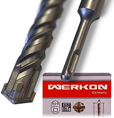 SCHWABENBACH ® SDS Plus Bohrer 10mm Ø - Extra Lang 10x800 mm - Ideal zum schnellen Bohren in Beton - Hochwertige Hartmetall Spitze - Kein Einhaken in Armierungseisen 10x800mm
