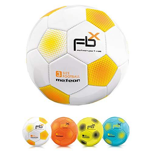 meteor Kinder Fußball Ball kleine Sportball Kleinkinder Freizeitball für drinnen und draußen Ball für Mädchen und Jungen in Allen Größen #1#3#4 und #5