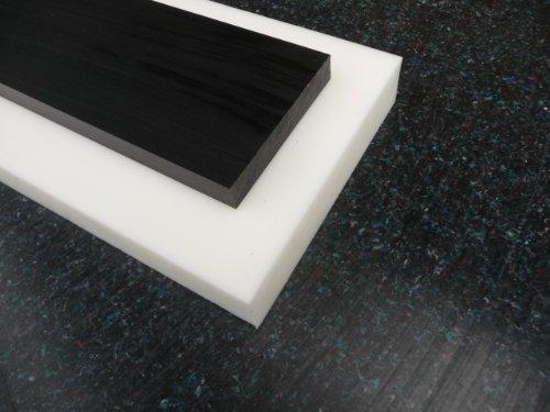 Platte aus POM, 500 x 100 x 10 mm schwarz Zuschnitt alt-intech®