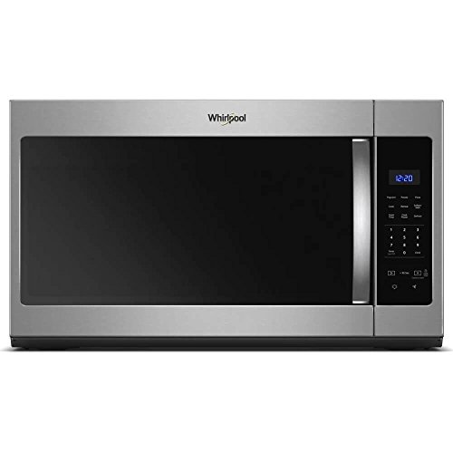 Whirlpool 30 in. W 1.7 cu. ft. Over the Range Microwave in Fingerprint Resistant Stainless Steel with Electronic Touch C